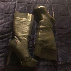 Black Jessica Simpson Platform Boots
